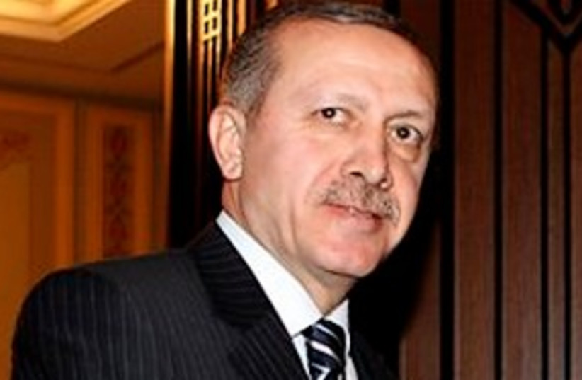 Recep Tayyip Erdogan 311 (photo credit: Associated Press)