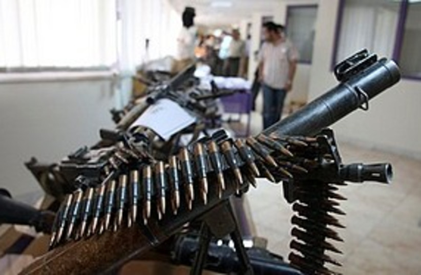 Weapons in southeastern Iran 311 (photo credit: Associated Press)