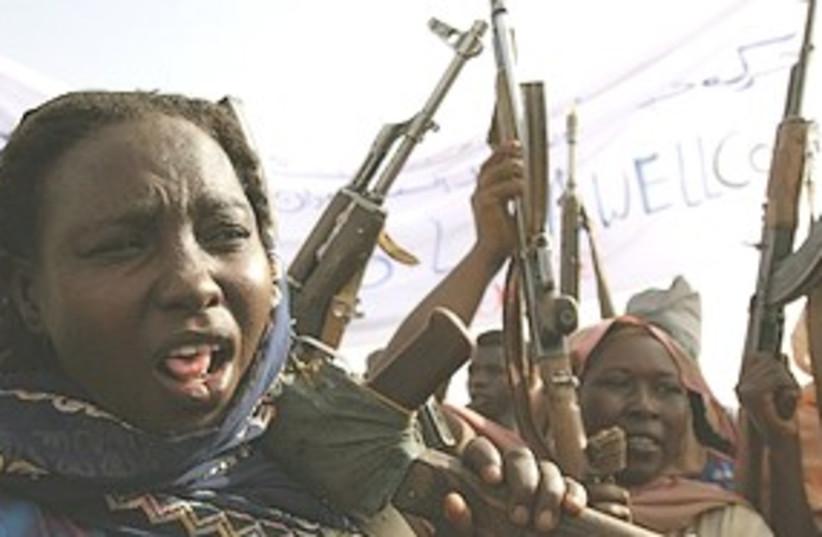 Sudanese rebels 311 (photo credit: Associated Press)