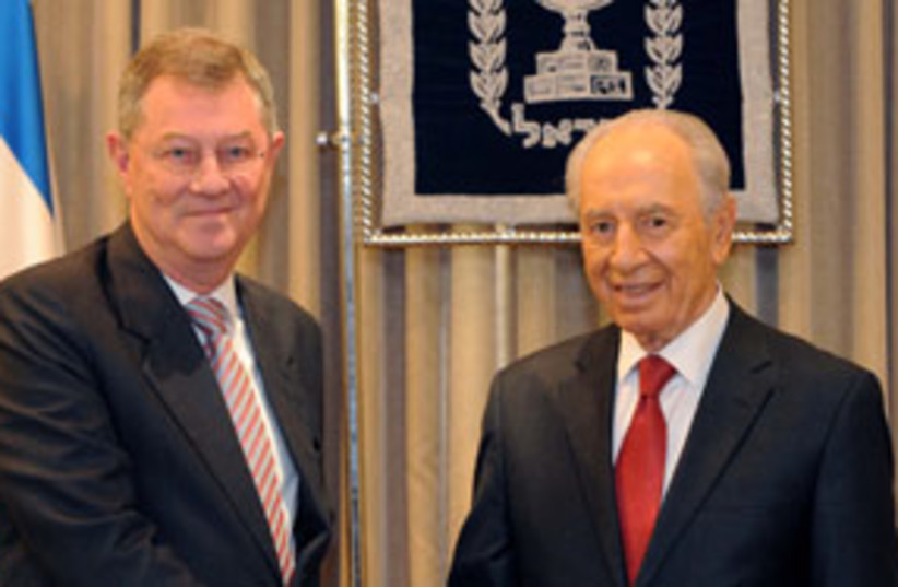 Peres serry 311 (photo credit: GPO)