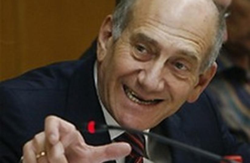 Ehud Olmert 311 AP (photo credit: AP)