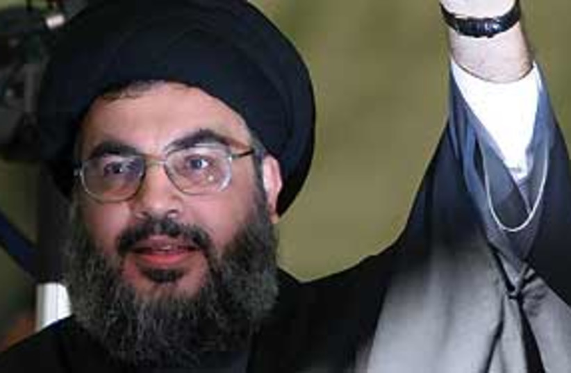 nasrallah 311 (photo credit: AP)