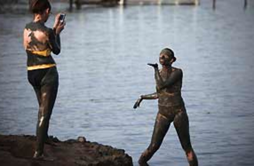 chicks at dead sea 311 (photo credit: AP)
