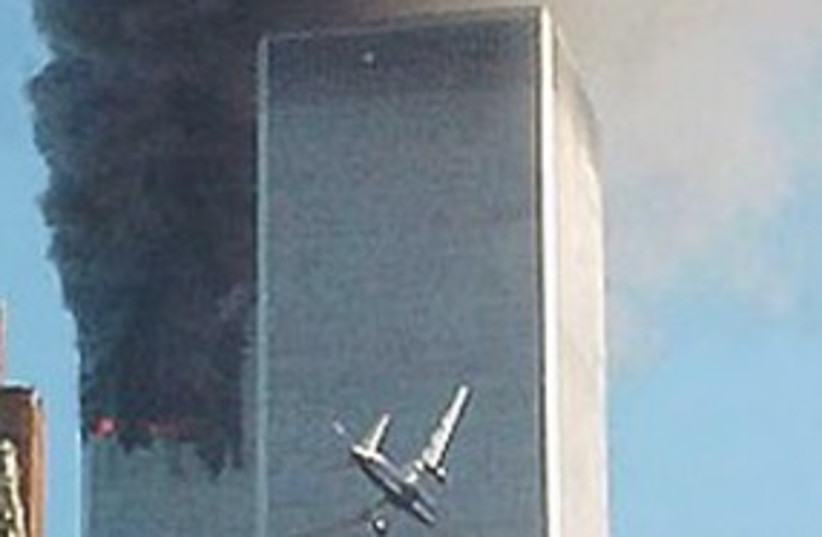 Twin Towers terror attack 311 (photo credit: Associated Press)