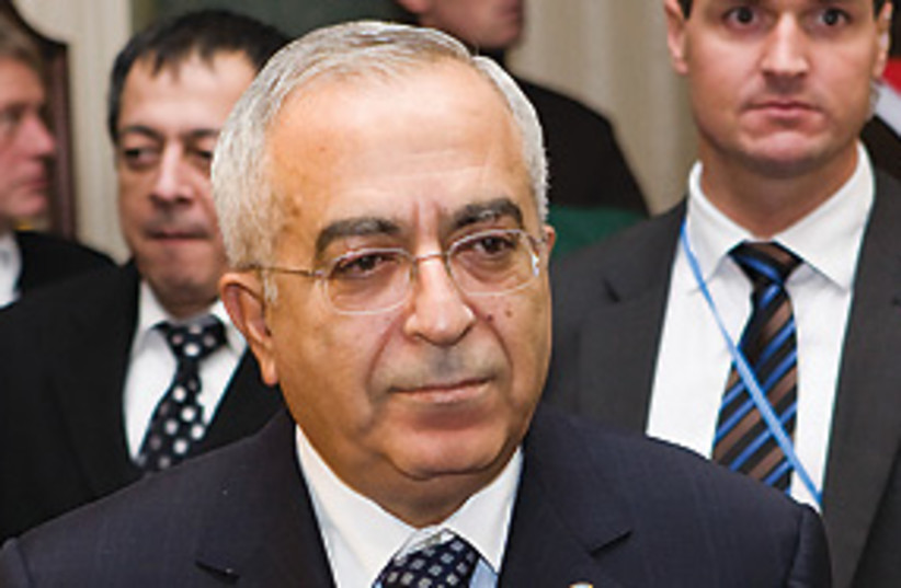 fayyad lookin formal 311 (photo credit: AP)