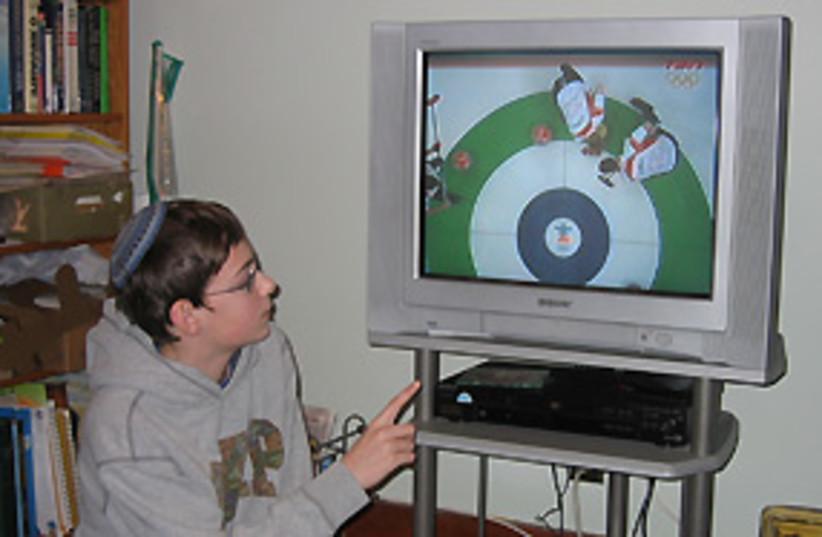 curling kid canada 311 (photo credit: Hilary Leila Krieger )