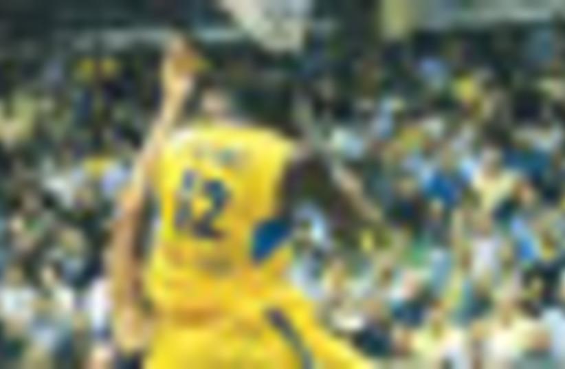Maccabi Tel Aviv Stehan Lasme 58 MK Productions (photo credit: MK Productions)