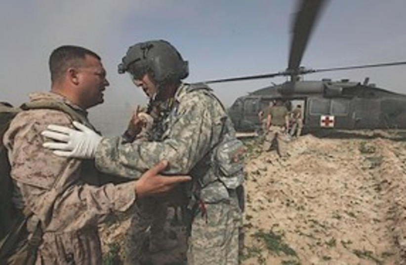 US soldiers Afghanistan 311 (photo credit: Associated Press)
