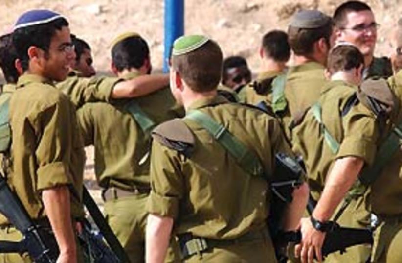 IDF troops 311 (photo credit: Ariel Jerozolimski)