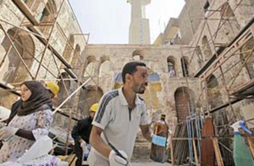 Maimonides Restoration 311 (photo credit: AP)