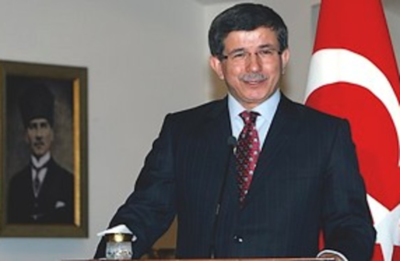 Davutoglu 311 (photo credit: Associated Press)