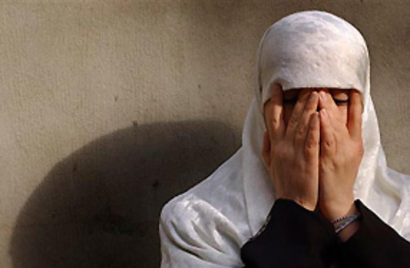 belgium terror suspect Malika El Aroud 311 (photo credit: AP)