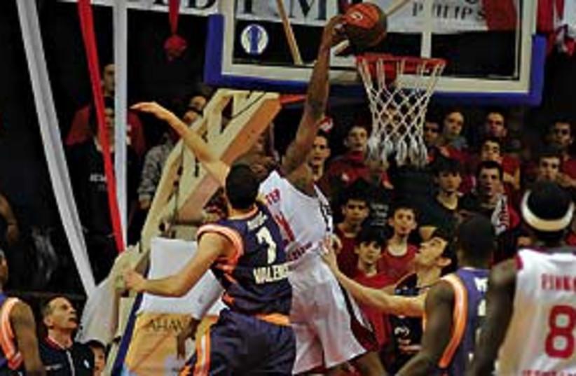 Hapoel Jlem basketball 311 (photo credit: Roi Levy )
