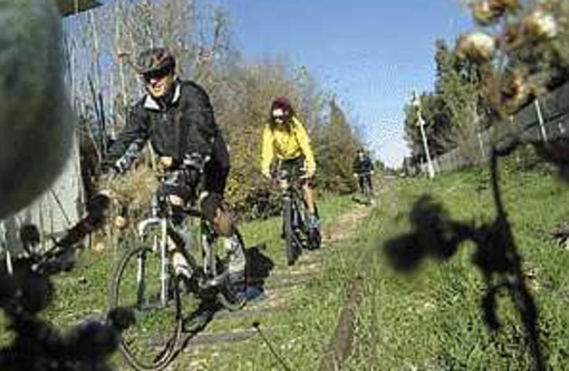 bikers 298.88 (photo credit: Sarah Levin)