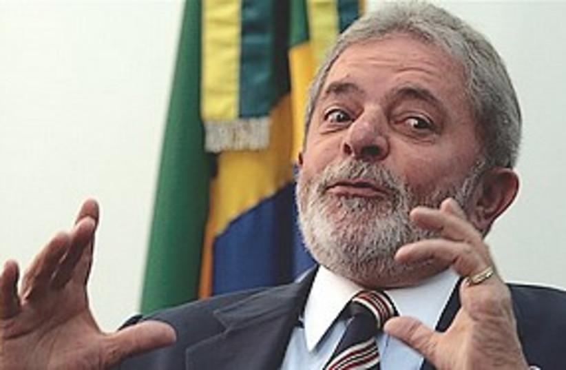 Luiz Inacio Lula da Silva 311 (photo credit: Associated Press)
