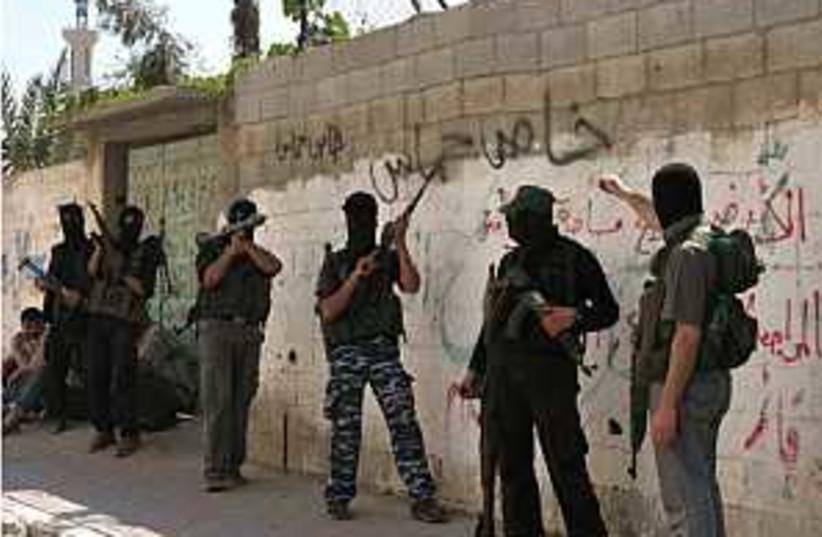 hamas in gaza 298.88 (photo credit: AP)