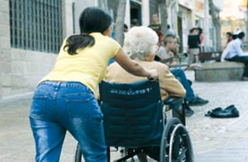 foreign worker ass 311 (photo credit: Ariel Jerozolimski)