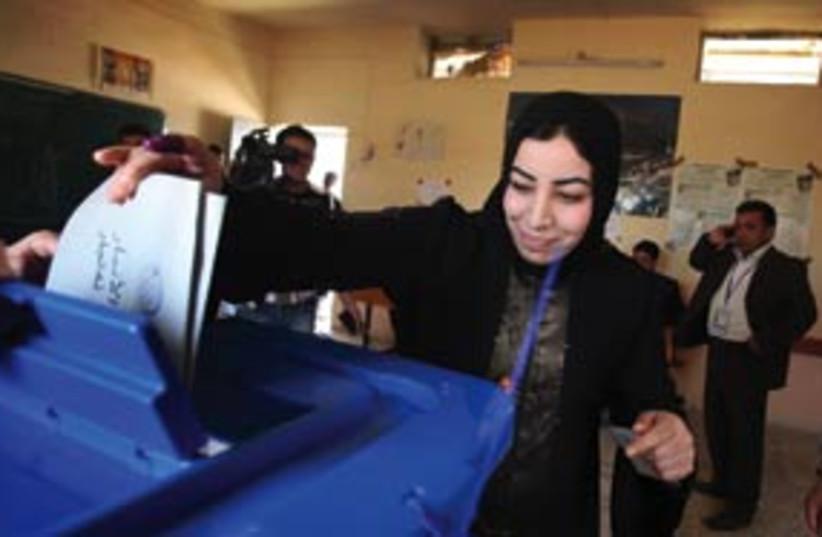 iraq elections 311 (photo credit: AP)