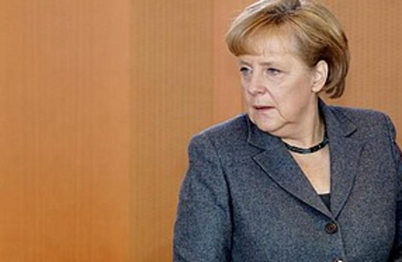 Merkel worried 311 (photo credit: Associated Press)
