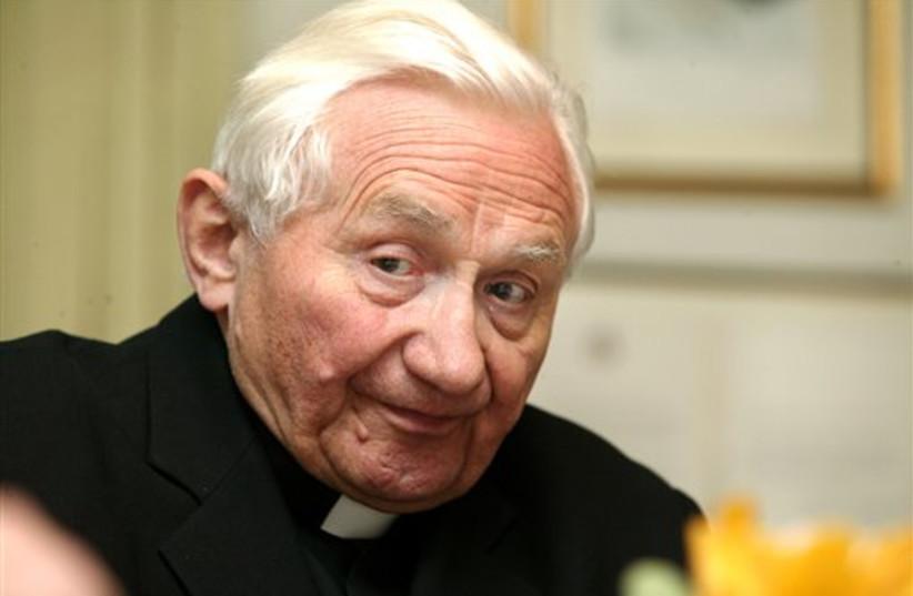 Georg Ratzinger 311 (photo credit: ASSOCIATED PRESS)