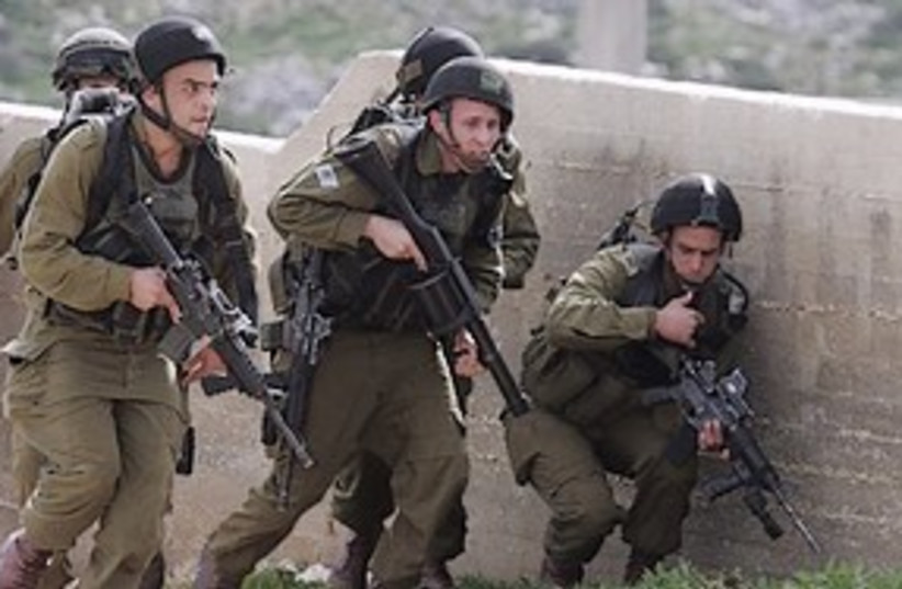 idf soldiers 311 (photo credit: ASSOCIATED PRESS)