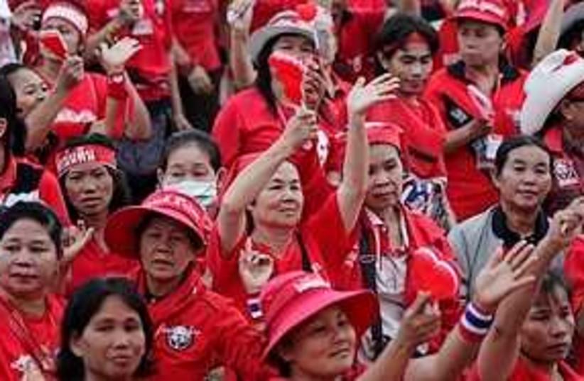 Thai protest 311 (photo credit: Associated Press)