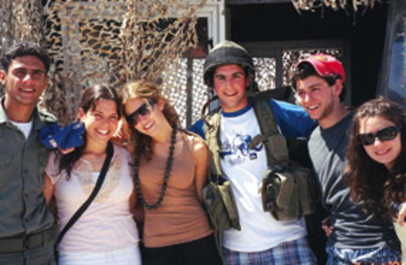 young americans idf 311 (photo credit: Courtesy)