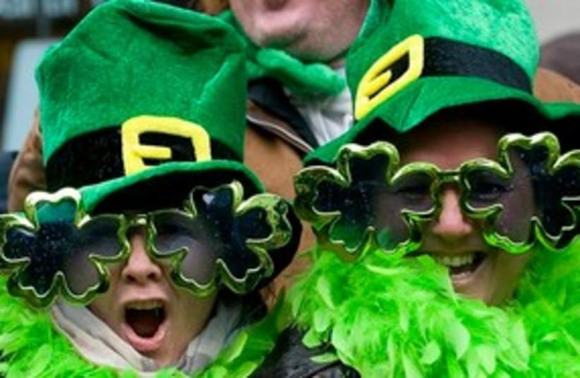 St. Patrick's Day 311 (photo credit: Associated Press)