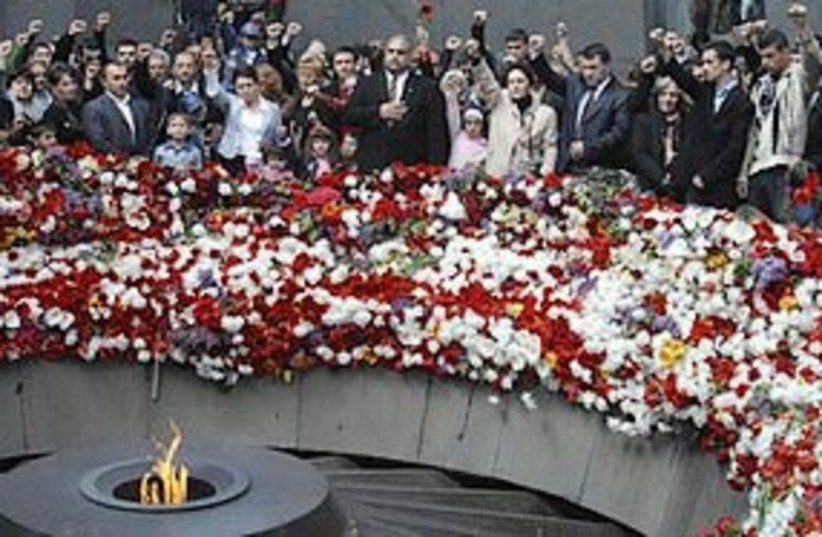 armenian genocide 311 (photo credit: ASSOCIATED PRESS)