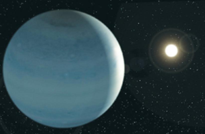 corot 9b planet 311 (photo credit: Tel Aviv University)