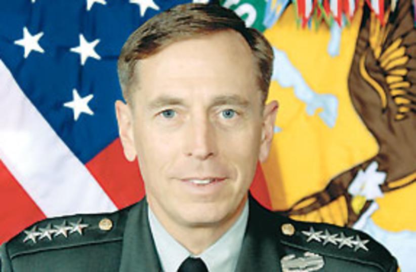 US Gen. David Petraeus 311 (photo credit: .)