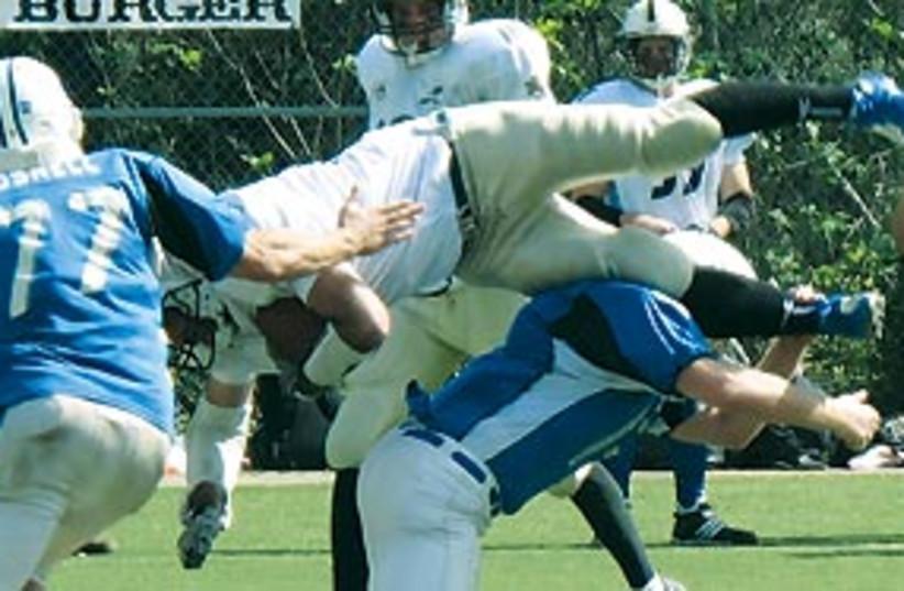 football danny brill kraft 311 (photo credit: Rick Blumsack)