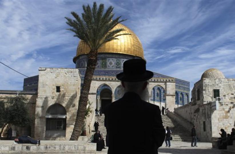 Al Aksa Mosque  (photo credit: AP)
