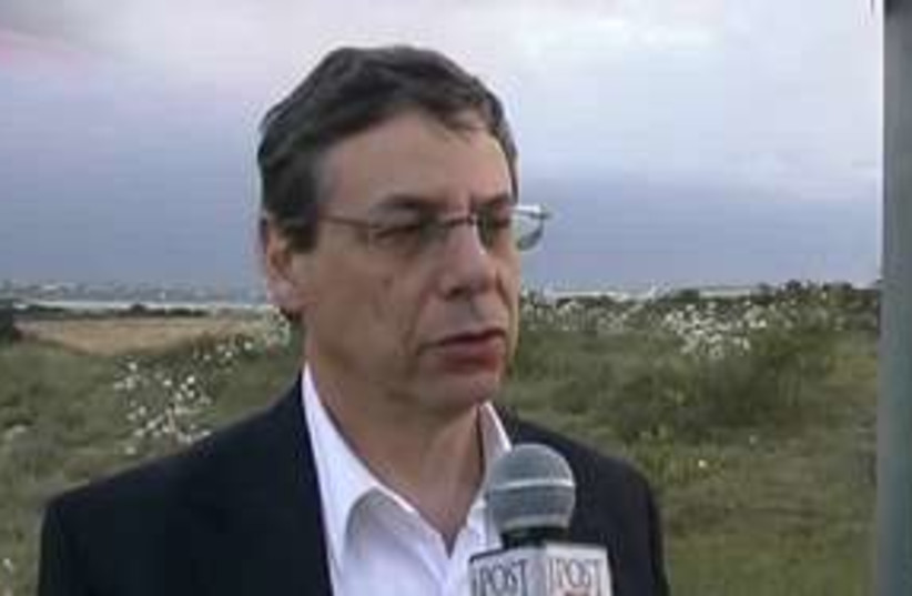 Danny Ayalon JPost interview 311 (photo credit: Benjamin Spier)