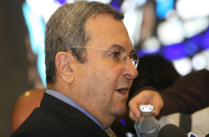 ehud barak 311 (photo credit: Ariel Jerozolimski)