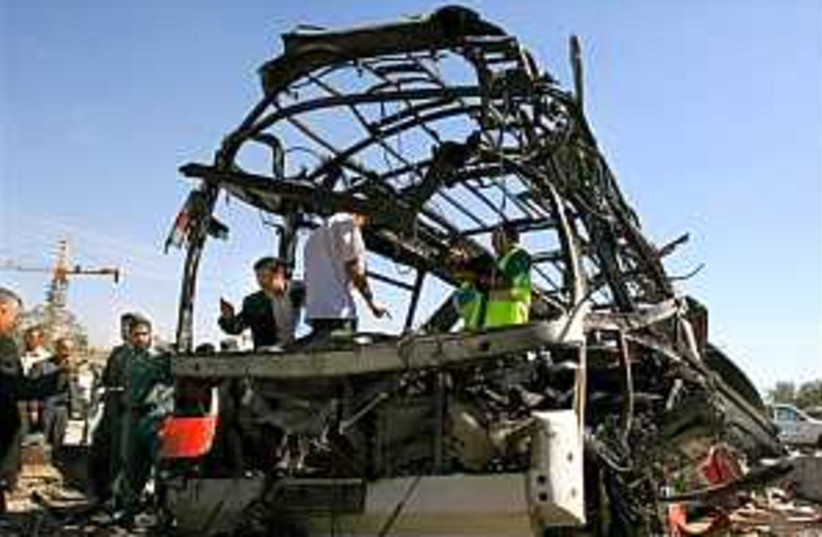 afghan bus bomb 298.88 (photo credit: AP)