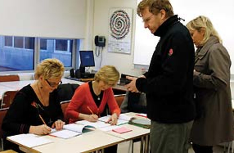 Iceland elections 311 (photo credit: Associated Press)