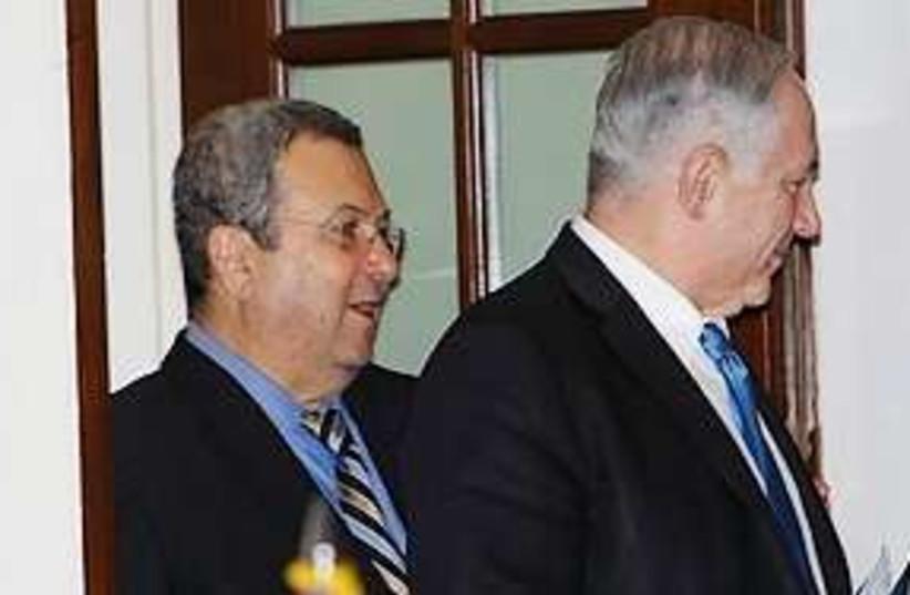 Netanyahu Barak US 311 (photo credit: Associated Press)