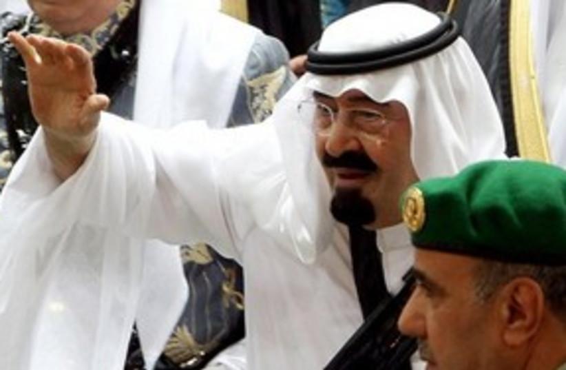 Saudi King Abdullah (photo credit: Associated Press)