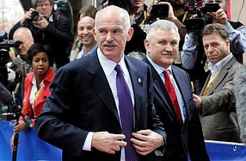 George Papandreou 311 (photo credit: Associated Press)
