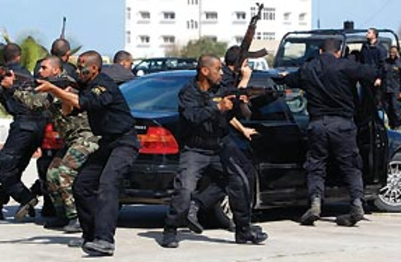 Hamas forces 311 (photo credit: Associated Press)