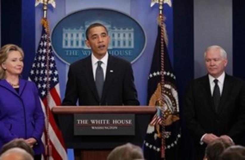 obama clinton gates 311 (photo credit: AP)