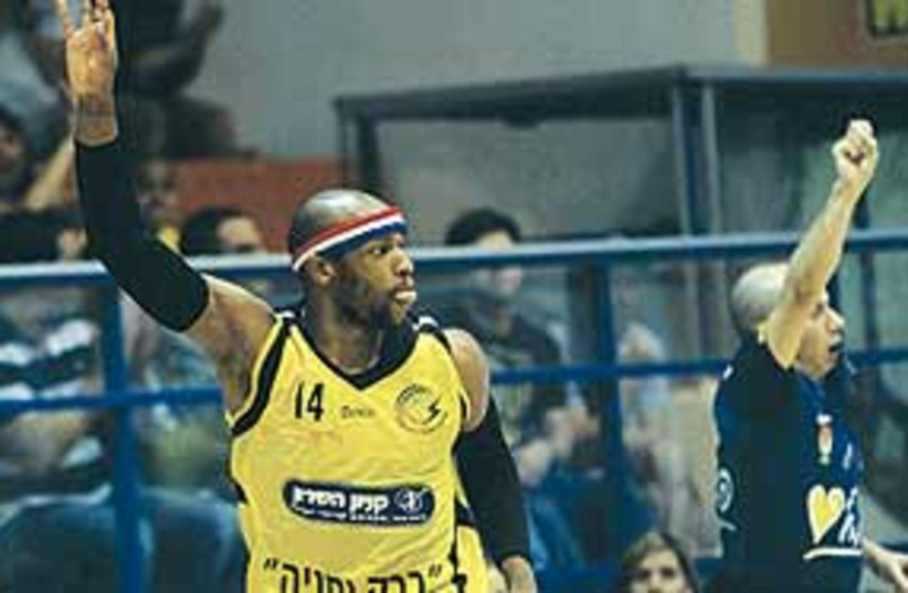 Barak Netanya's Danilo Pinnock 311 (photo credit: BSL)