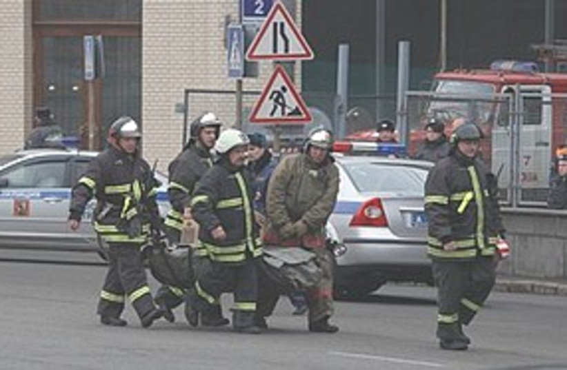 Moscow subway blasts 311 (photo credit: Associated Press)