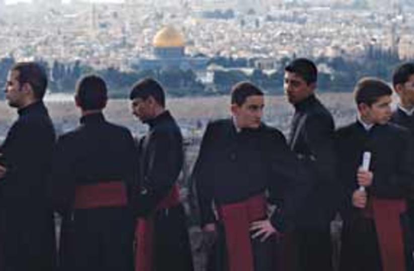 priests 311 (photo credit: AP)