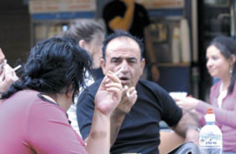 smokers 298.88 (photo credit: Ariel Jerozolimski)