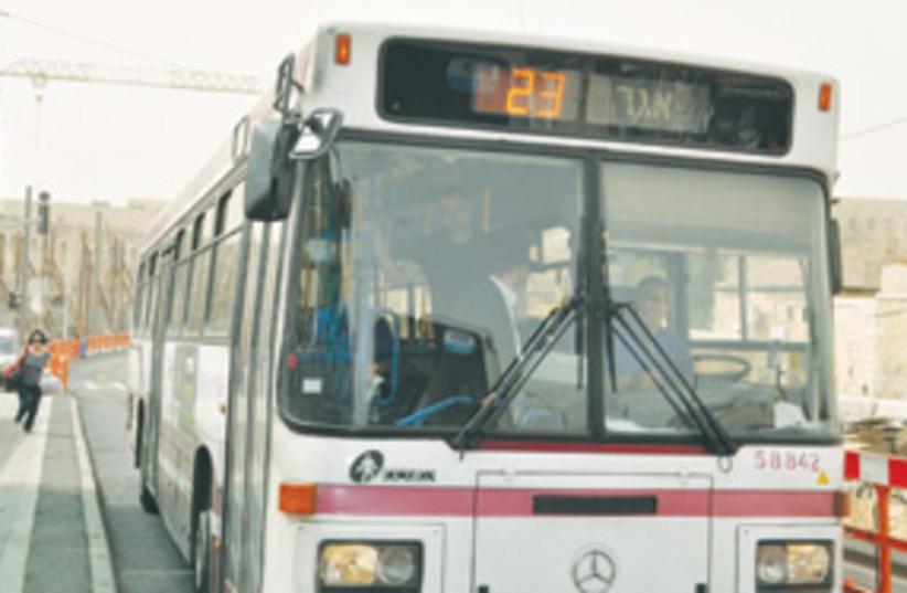 bus no 23 jlem 311 (photo credit: Sarah Levin)