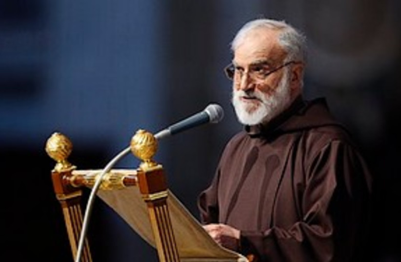Raniero Cantalamessa 311 (photo credit: AP)