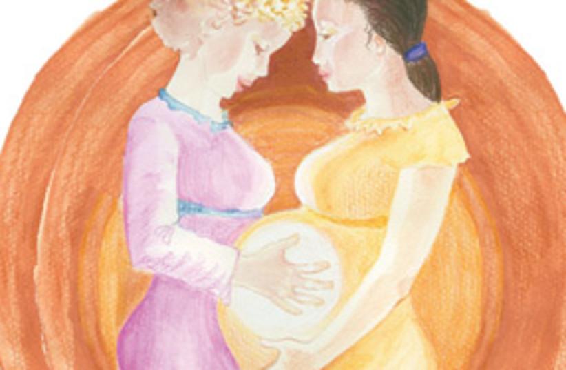 pregnancy womb 311 (photo credit: Tzipora Ivry)
