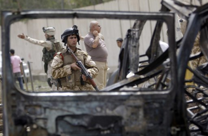 Iraqi security forces (photo credit: AP)